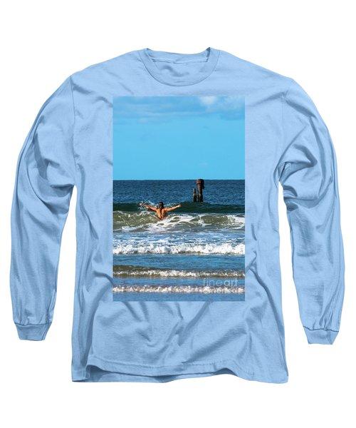 Belongil Beach Long Sleeve T-Shirt