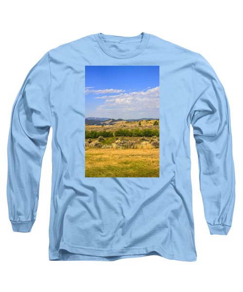 Big Sky Montana Long Sleeve T-Shirt