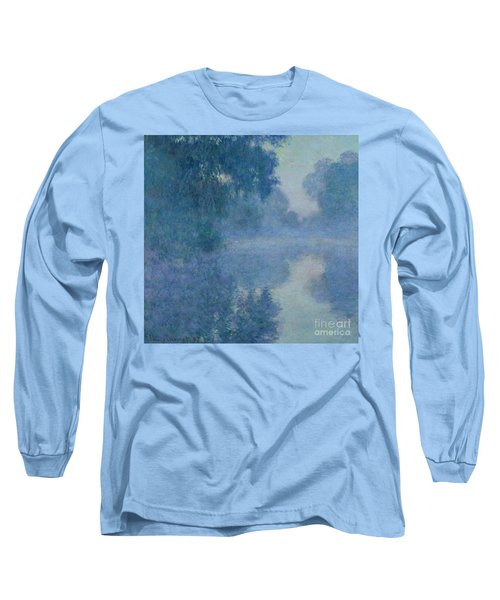 Branch Of The Seine Near Giverny Long Sleeve T-Shirt