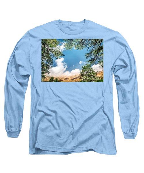 Cedars Of Lebanon Long Sleeve T-Shirt