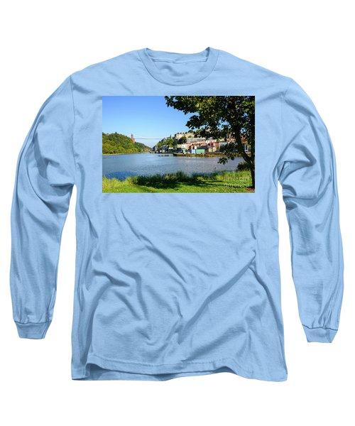 Clifton Suspenion Bridge Long Sleeve T-Shirt