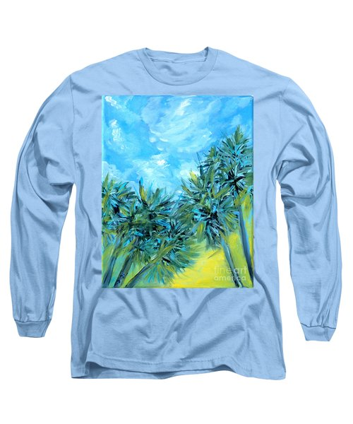 Collection Art  For Health And Life. Painting 10  Long Sleeve T-Shirt