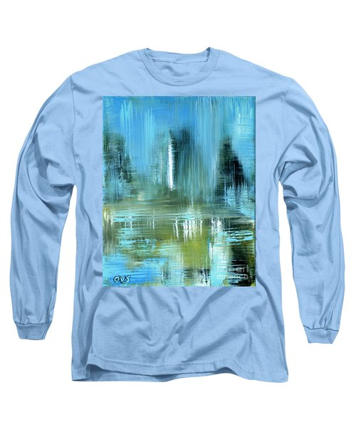 Original For Sale. Collection Art For Health And Life. Painting 9 Long Sleeve T-Shirt
