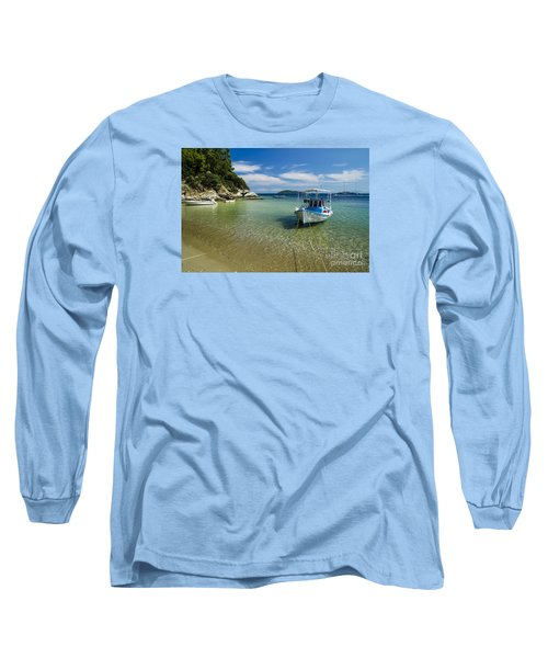 Colorful Boat Long Sleeve T-Shirt