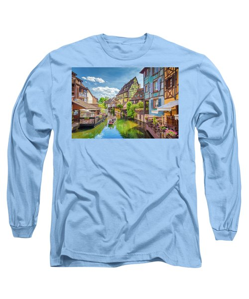 Colorful Colmar Long Sleeve T-Shirt by JR Photography