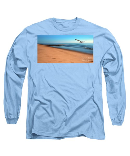 Long Sleeve T-Shirt featuring the photograph Desire Light  by Hannes Cmarits