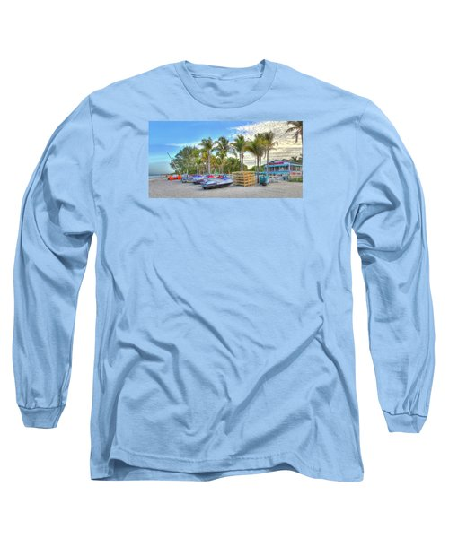 Docs Beach House Long Sleeve T-Shirt by Sean Allen