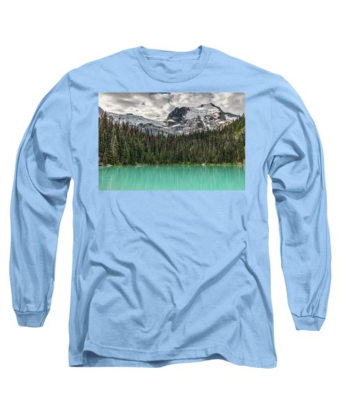 Emerald Reflection Long Sleeve T-Shirt by Pierre Leclerc Photography