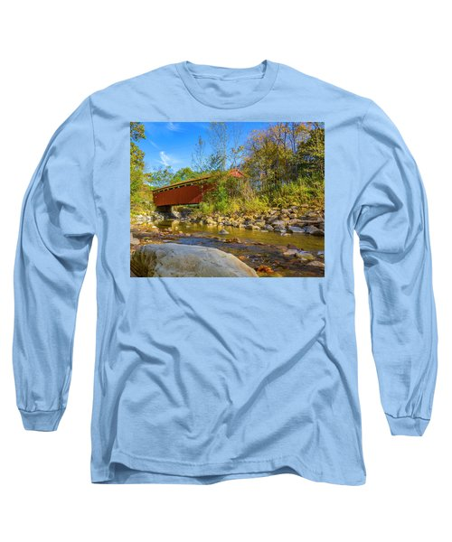 Everett Covered Bridge  Long Sleeve T-Shirt