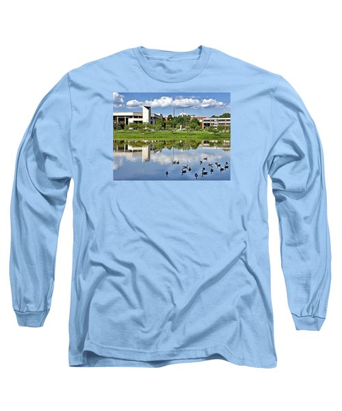 George Mason University Long Sleeve T-Shirt by Brendan Reals