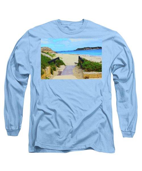 Hamelin Bay Long Sleeve T-Shirt by Cassandra Buckley