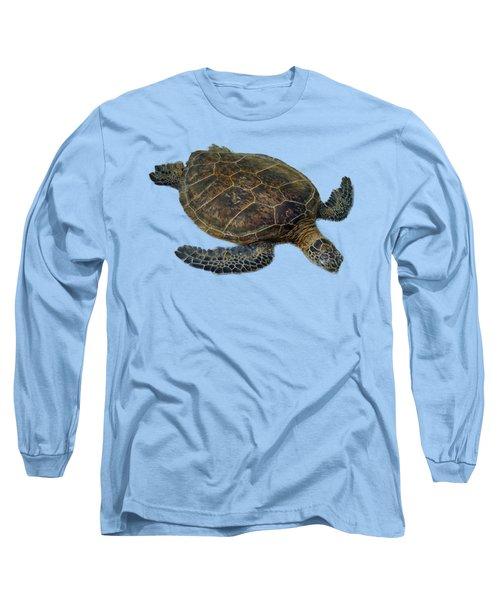 Hawaiian Sea Turtle Long Sleeve T-Shirt