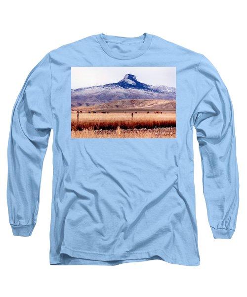 Heart Mountain - Cody,  Wyoming Long Sleeve T-Shirt