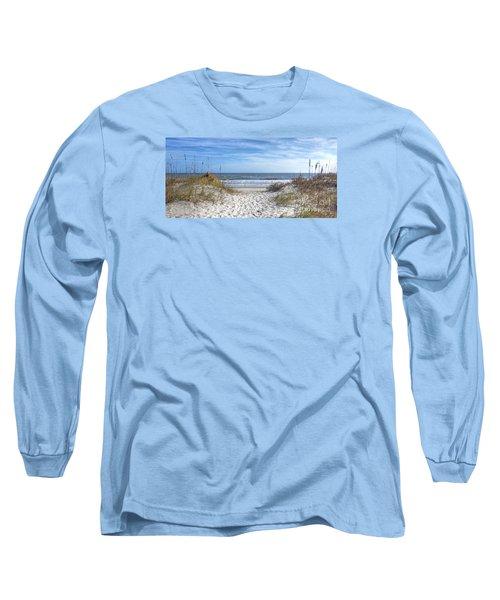 Huntington Beach South Carolina Long Sleeve T-Shirt by Kathy Baccari