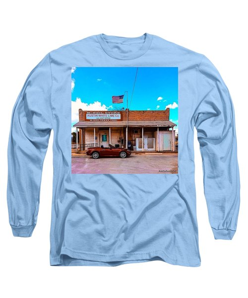 I Live In The 11th Most Populated City Long Sleeve T-Shirt