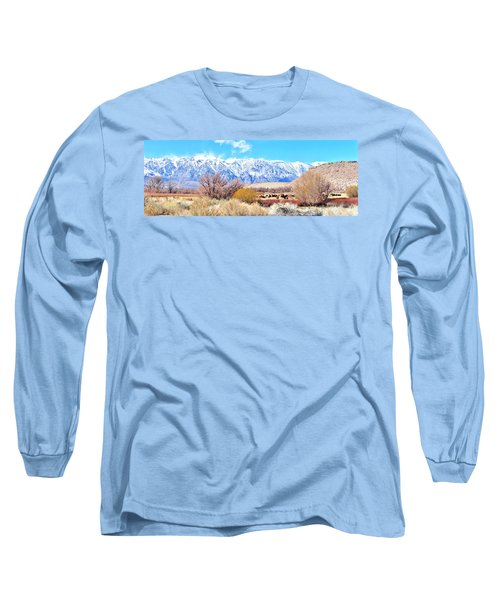 In The Valley Long Sleeve T-Shirt by Marilyn Diaz