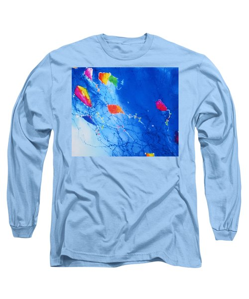 Kite Sky Long Sleeve T-Shirt by Anne Duke