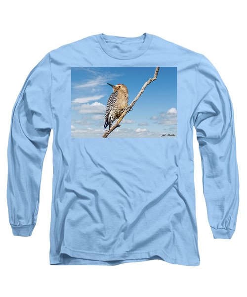 Male Gila Woodpecker Long Sleeve T-Shirt