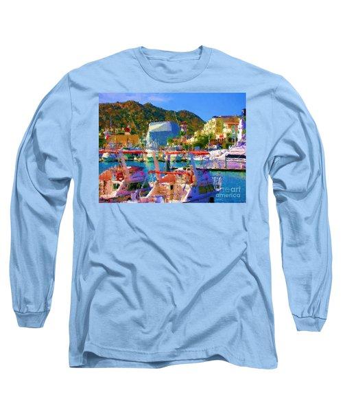 Marina Towards Pedregal Long Sleeve T-Shirt