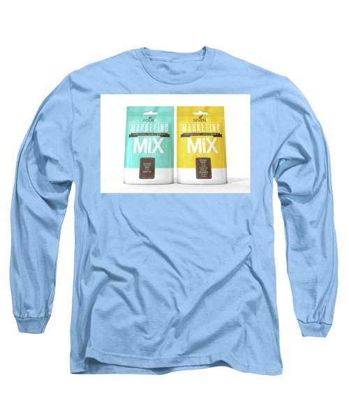 Marketing Mix 4 And 7 P's Long Sleeve T-Shirt