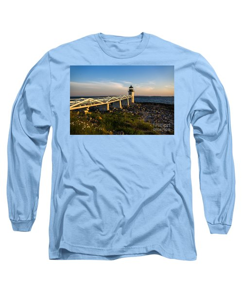 Marshall Point Lighthouse Long Sleeve T-Shirt by Diane Diederich