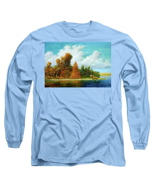 Moose Country Long Sleeve T-Shirt