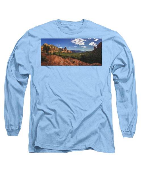 Mormon Canyon Panorama Long Sleeve T-Shirt