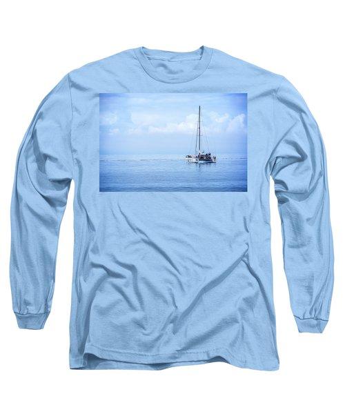 Morning Sail Long Sleeve T-Shirt by James Hammond
