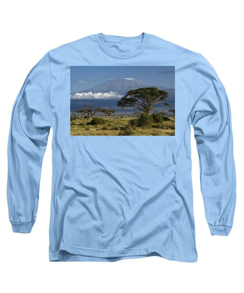 Mount Kilimanjaro Long Sleeve T-Shirt