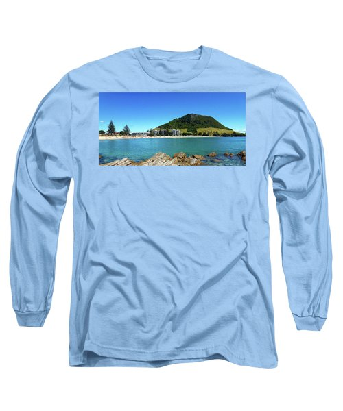 Mount Maunganui Beach 10 - Tauranga New Zealand Long Sleeve T-Shirt