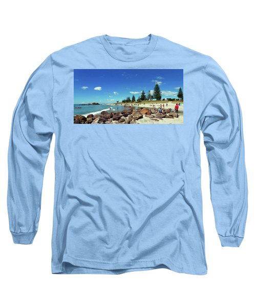 Mount Maunganui Beach 6 - Tauranga New Zealand Long Sleeve T-Shirt