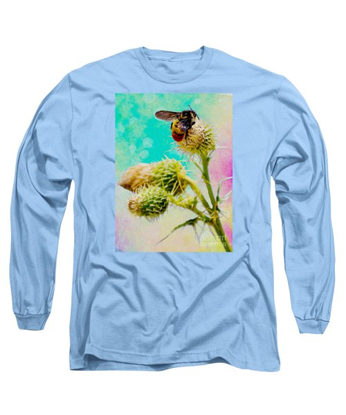 Collection Without Distructions Long Sleeve T-Shirt by Manjot Singh Sachdeva