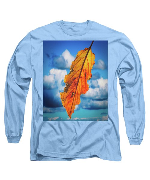 October Leaf B Fine Art Long Sleeve T-Shirt