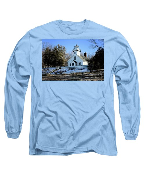 Old Mission Lighthouse Long Sleeve T-Shirt