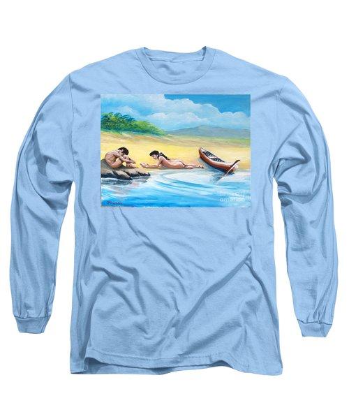 On The Beach Long Sleeve T-Shirt