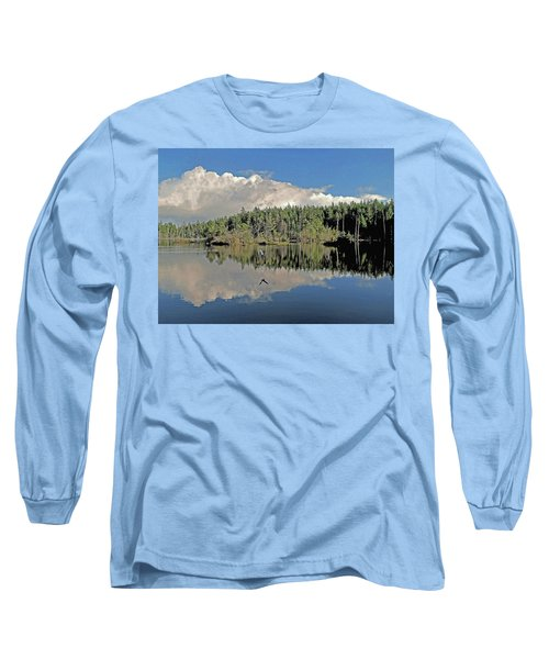 Long Sleeve T-Shirt featuring the photograph Pause And Reflect by Suzy Piatt