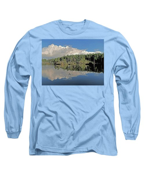 Pause And Reflect Long Sleeve T-Shirt