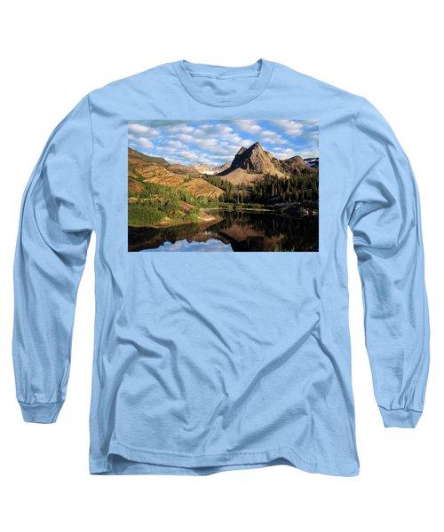 Peaceful Mountain Lake Long Sleeve T-Shirt