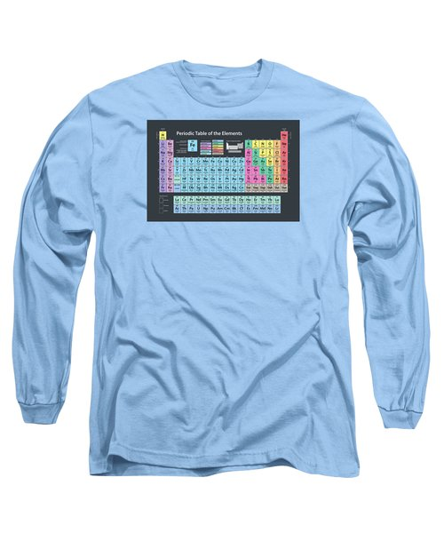 Periodic Table Of Elements Long Sleeve T-Shirt