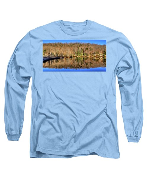 Long Sleeve T-Shirt featuring the photograph Pond Reflections by David Patterson