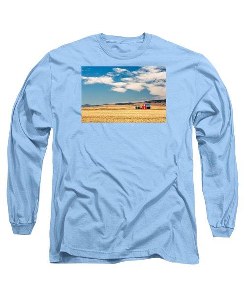 Prairie Red Long Sleeve T-Shirt