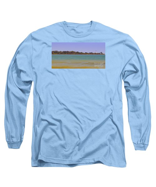 Long Sleeve T-Shirt featuring the photograph Racine Lakefront by Ricky L Jones