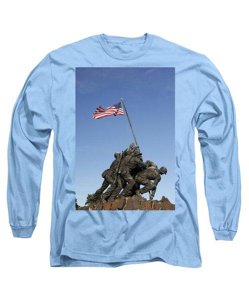 Raising The Flag On Iwo - 799 Long Sleeve T-Shirt