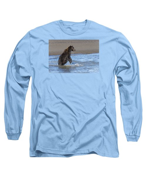 Long Sleeve T-Shirt featuring the photograph Ready, Set, Go by Sandra Bronstein