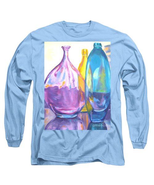 Reflections In Glass Long Sleeve T-Shirt