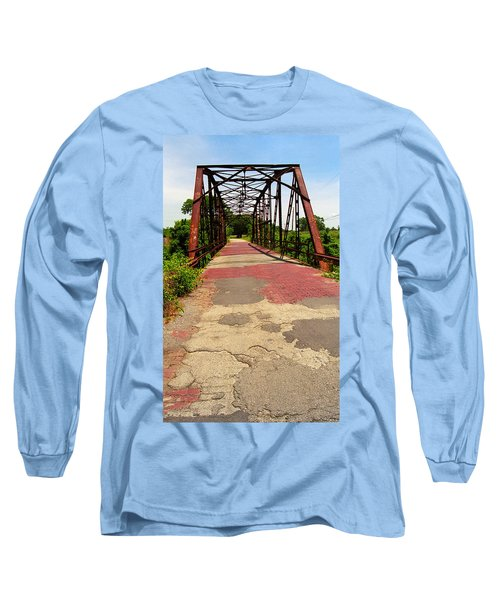 Route 66 - One Lane Bridge Long Sleeve T-Shirt