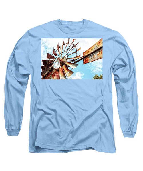 Rusted Windmill Long Sleeve T-Shirt