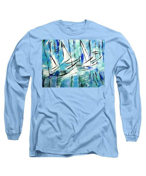Sailing Blue Long Sleeve T-Shirt