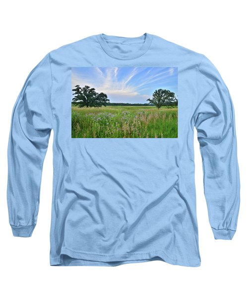 Silver Creek Conservation Area Sunset Long Sleeve T-Shirt
