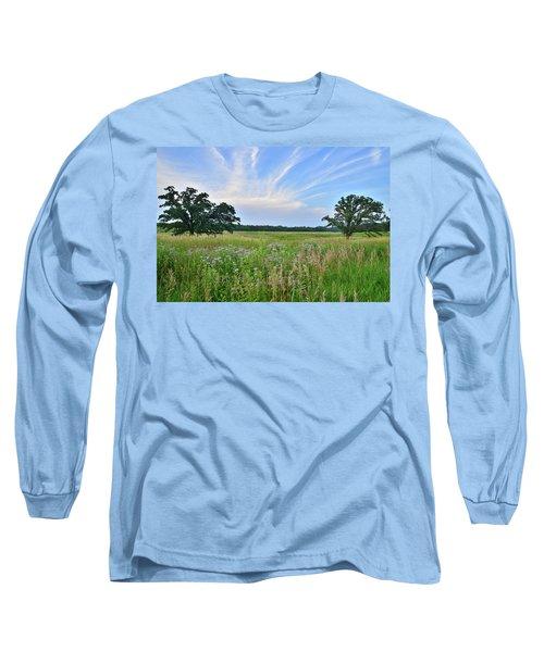 Silver Creek Conservation Area Sunset Long Sleeve T-Shirt